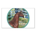 ORN-Bridge-ArabianHorse Sticker (Rectangle 50