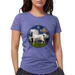 Starry / Arabian Horse (W1) Womens Tri-blend T-Shi