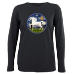 Starry / Arabian Horse (W1) Plus Size Long Sleeve