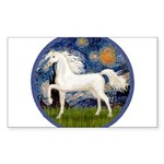 Starry / Arabian Horse (W1) Sticker (Rectangle 50