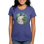 Bridge (Monet) - White Arabian Horse Womens Tr