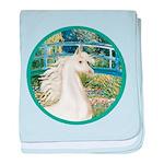 Bridge (Monet) - White Arabian Horse baby blan