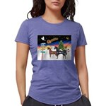 XmsSigns/3 Horses (Ar) Womens Tri-blend T-Shirt