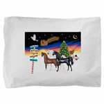 XmsSigns/3 Horses (Ar) Pillow Sham
