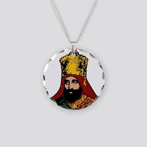 Selassie 1 Necklace Circle Charm
