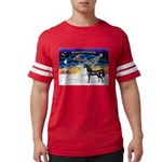 XmsSunrs/2 Horses (Ar) Mens Football Shirt