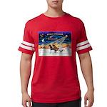 XmsSunrs/3 Horses (Ar) Mens Football Shirt