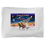 XmsSunrs/3 Horses (Ar) Pillow Sham