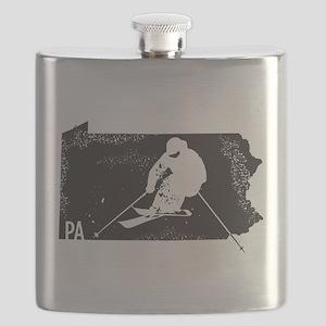 Ski Pennsylvania Flask