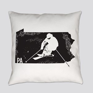 Ski Pennsylvania Everyday Pillow