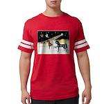 XmsDove/3 Horses (Ar) Mens Football Shirt