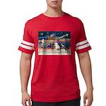 XmsStar/3 Horses (Ar) Mens Football Shirt