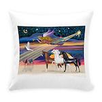 XmsStar/3 Horses (Ar) Everyday Pillow