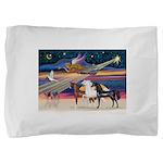 XmsStar/3 Horses (Ar) Pillow Sham