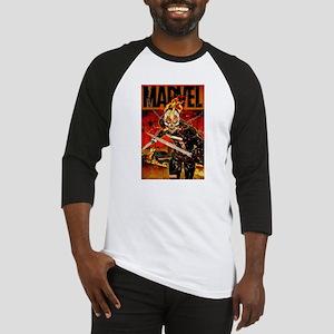 Ghost Rider Marvel Baseball Jersey