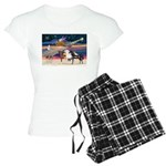 XmsStar/3 Horses (Ar) Women's Light Pajamas