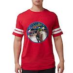 XmsMagic/3 Horses (Ar) Mens Football Shirt