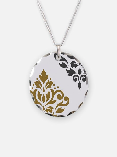 Scroll Damask Art I GGW Necklace