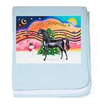 Christmas Music 2 = Black Arabian Horse baby b