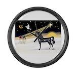 Three Wise Men - Black Arabian Horse Large Wal
