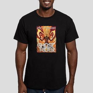 Ghost Rider Spirit Men's Fitted T-Shirt (dark)