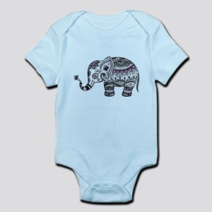 Purple Elephant Baby Clothes Accessories Cafepress