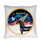 XmasSunrise-Peace-Arabian Horse (blk) Everyday