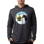 Take Off1/ Horse (Ar-blk ) Mens Hooded Shirt