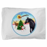Take Off1/ Horse (Ar-blk ) Pillow Sham