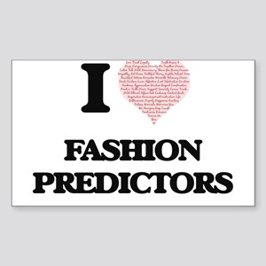 I love Fashion Predictors (Heart made from Sticker