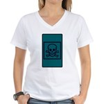 Death Tarot Women's V-Neck T-Shirt
