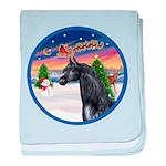Take Off 2 / Arabian Horse (b baby blanket