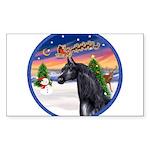 Take Off 2 / Arabian Horse (b Sticker (Rectangle 5