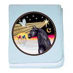 3 Wise Men -Arabian Horse (blk) - round baby b