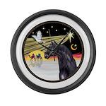3 Wise Men -Arabian Horse (blk) - round Large