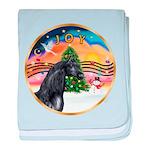 ORN-XmasMusic2-HORSE-Arabian-black baby blanke