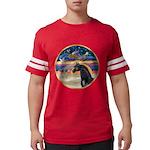 Xmas Star / Arabian Horse (bl Mens Football Shirt