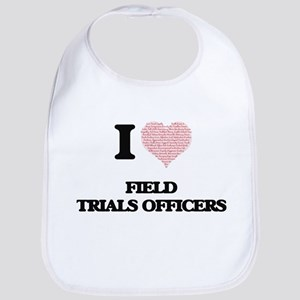 I love Field Trials Officers (Heart made from Bib