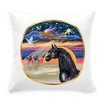 Xmas Star / Arabian Horse (bl Everyday Pillow