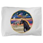Xmas Star / Arabian Horse (bl Pillow Sham