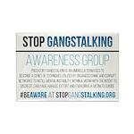 Gangstalking Awareness Magnets