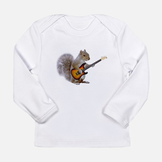Cute Squirrel funny Long Sleeve Infant T-Shirt