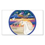 XmsStr/Horse (W2) Sticker (Rectangle 50 pk)