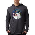 XmasMagic/Arabian Horse (W) Mens Hooded Shirt