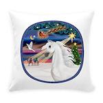 XmasMagic/Arabian Horse (W) Everyday Pillow