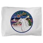 XmasMagic/Arabian Horse (W) Pillow Sham