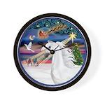XmasMagic/Arabian Horse (W) Wall Clock