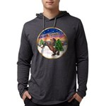 ORN-TakeOff2-Horse-Rearup1 Mens Hooded Shirt