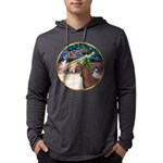 ORN-XmasMagic-ArabianHorse Mens Hooded Shirt