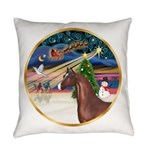 ORN-XmasMagic-ArabianHorse Everyday Pillow